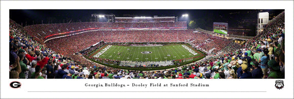 University of Georgia vs Notre Dame Panoramic Picture