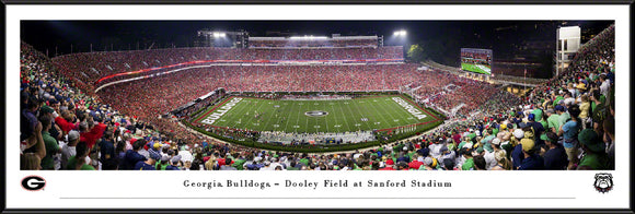 University of Georgia vs Notre Dame Standard Frame Panoramic 2019