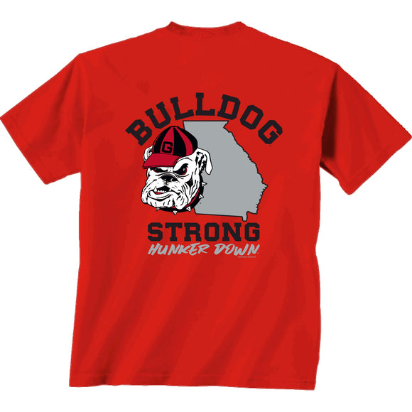 UGA Bulldog Strong Comfort Colors T-Shirt