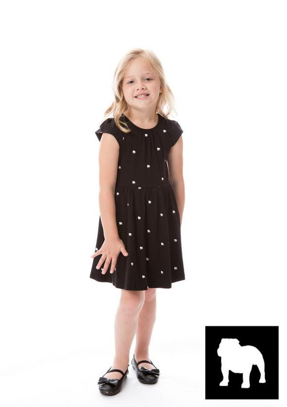 Girls Georgia Bulldogs Dress