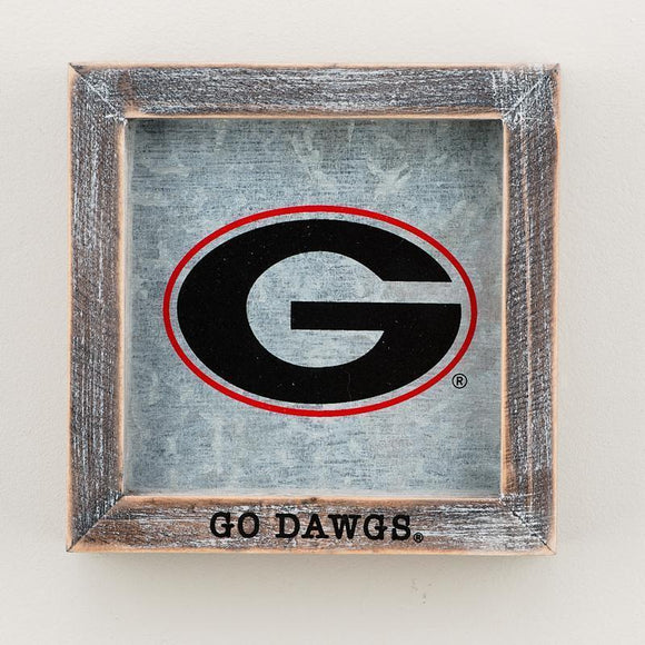 Georgia Go Dawgs Logo Table Top