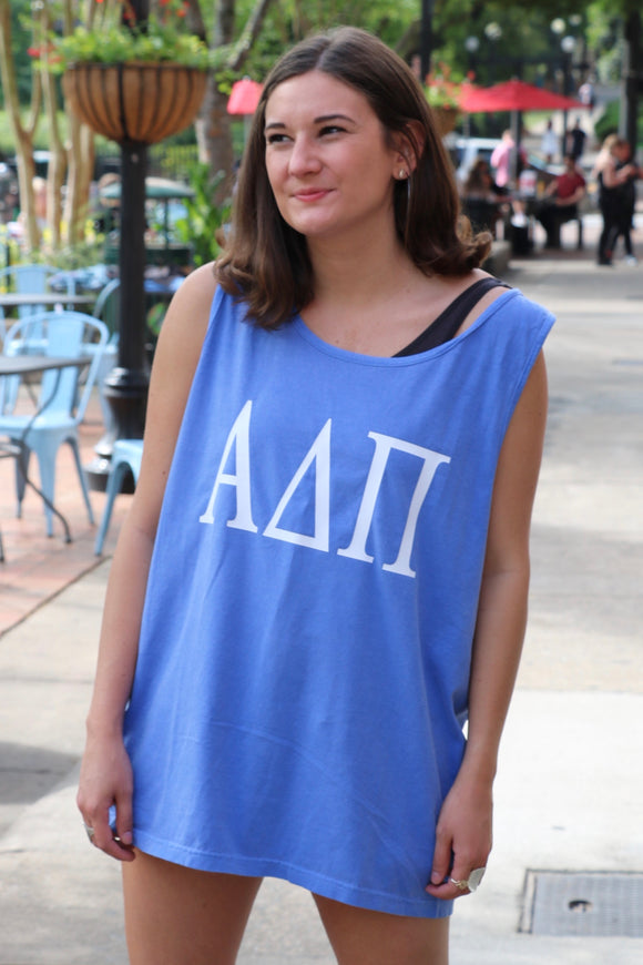 Sorority Custom Comfort Colors Tank Top