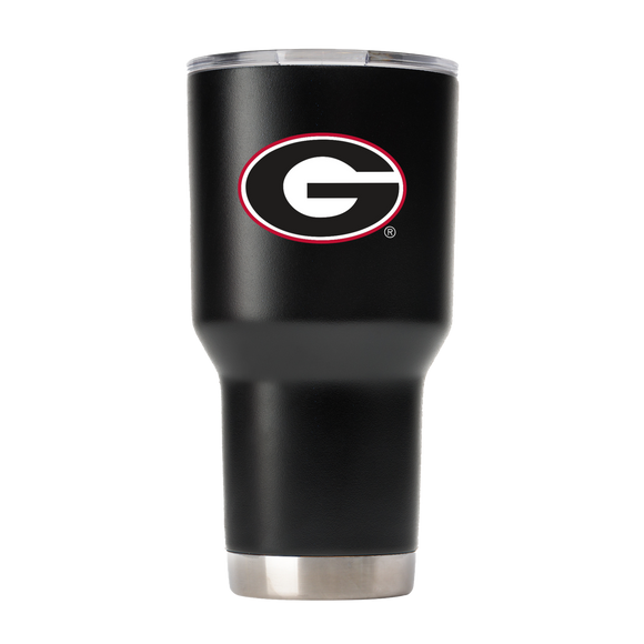 UGA 30oz Georgia G Stainless Steel Sidekick Tumbler - Black