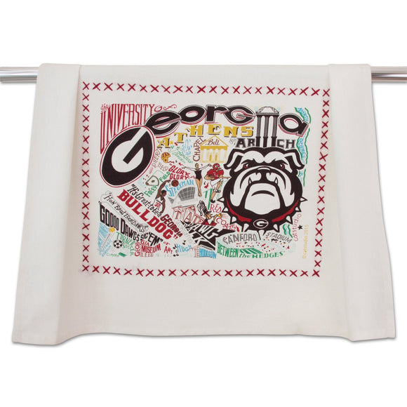 University of Georgia Dish Towel