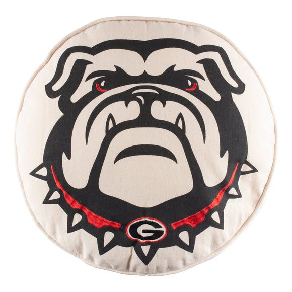 University of Georgia Bulldog Pillow