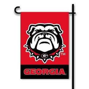 University of Georgia Bulldogs Garden Flag