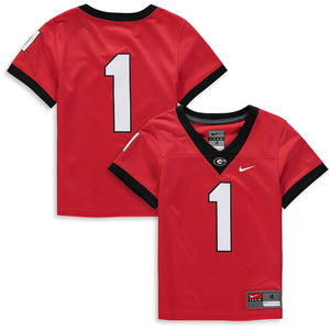 Georgia Bulldogs Nike Kids Football Jersey