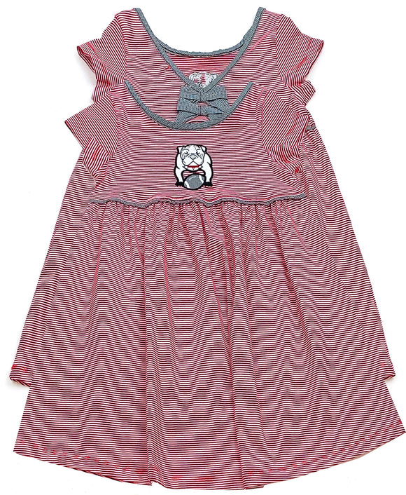 little girl bulldog dress toddler
