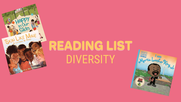 Reading with Kids- let's teach them about diversity