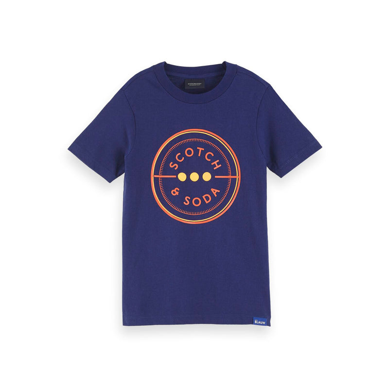 Boys Scotch & Soda Short Sleeve Tee - Il Bambino Store