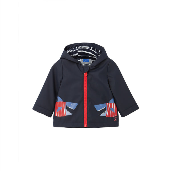 Cloud Raincoat (Blue/Shark) - il Bambino Store