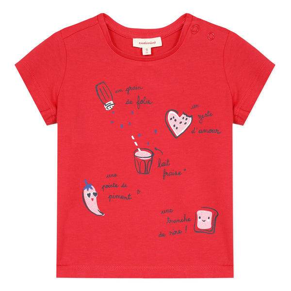 Red Chef Graphic T-shirt - il Bambino Store
