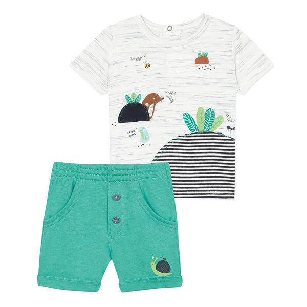T-shirt and Jersey Shorts Set - il Bambino Store