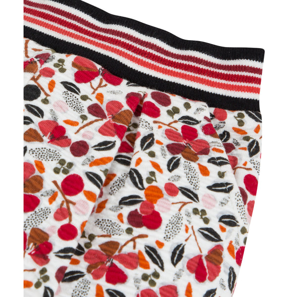 Floral Printed Winter Pants - Il Bambino Store