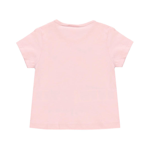 Knit T-Shirt Hearts for girl - Il Bambino Store