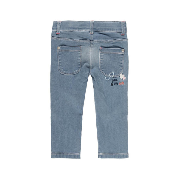 Fleece Denim Trousers for girl - Il Bambino Store