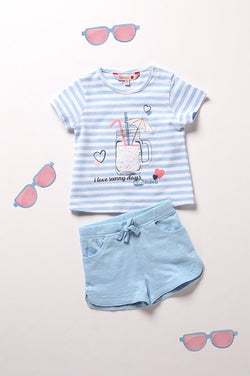 Pack Knit Striped for girl - Il Bambino Store