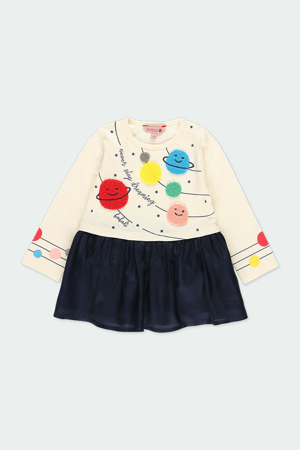 Baby Girl Combined Dress - Il Bambino Store