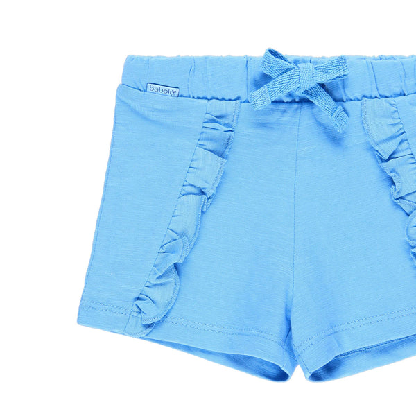 Knit Bermuda Shorts Flame for Girl - Il Bambino Store