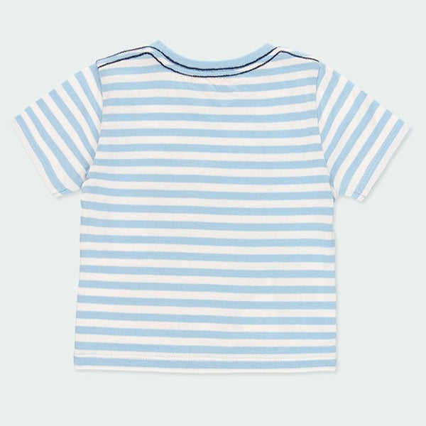 Knit T-Shirt Striped for boy - Il Bambino Store