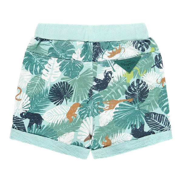 Baby Boy Fleece Bermuda Shorts Flame - Il Bambino Store