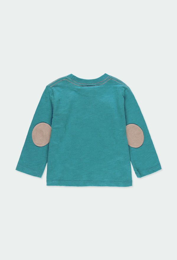 "Knit T-Shirt ""Lake"" for Baby Boy - Il Bambino Store"
