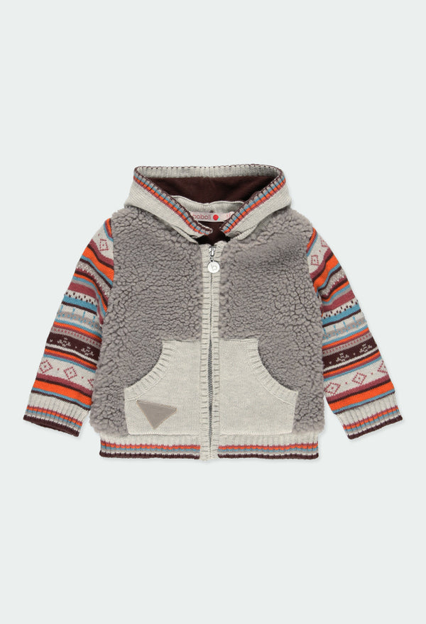 Knitwear Combined Jacket for Boy - Il Bambino Store