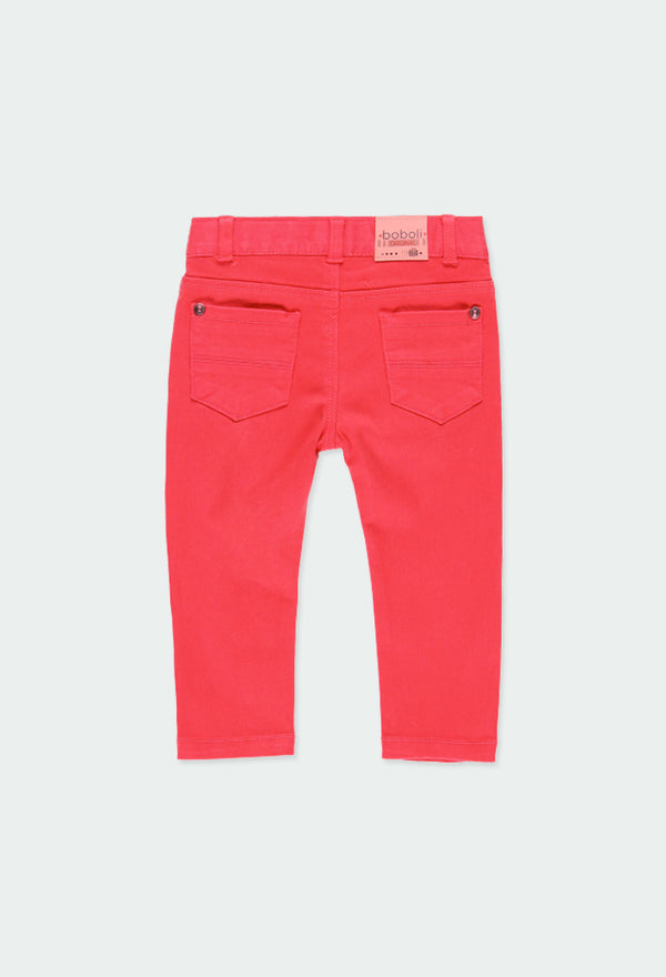 Baby Boy Stretch Twill Trousers - Il Bambino Store