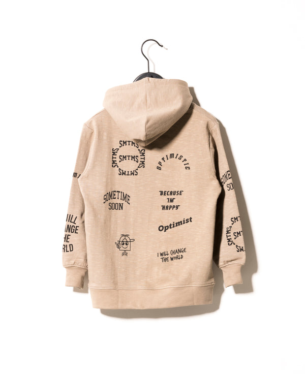 Fantastic Hoodie in Olive Grey - Il Bambino Store