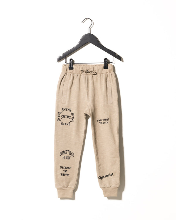 Fantastic Joggers in Olive Grey  - Il Bambino Store