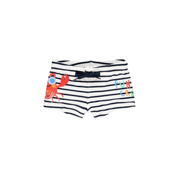 Bond Swimsuit Striped for baby boy - Il Bambino Store