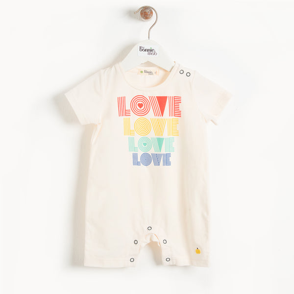 Bari Shorty Playsuit (Love) - Il Bambino Store