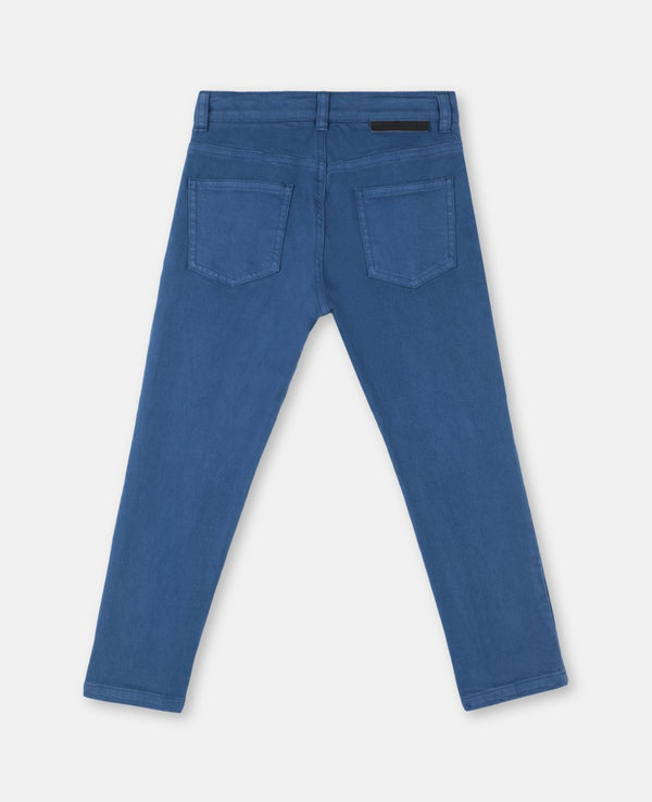 Boy Denim Pants with Planet Embroidery - Il Bambino Store