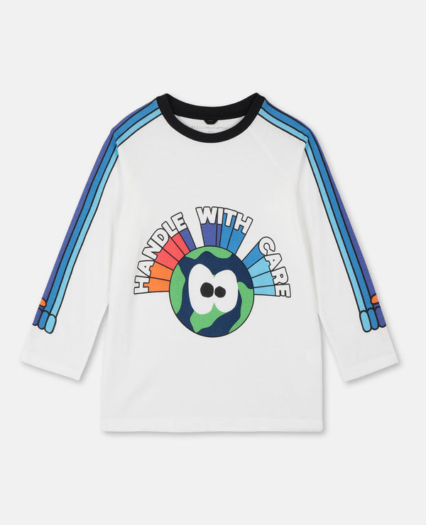 Long Sleeve Tee with Rainbow Hands - Il Bambino Store