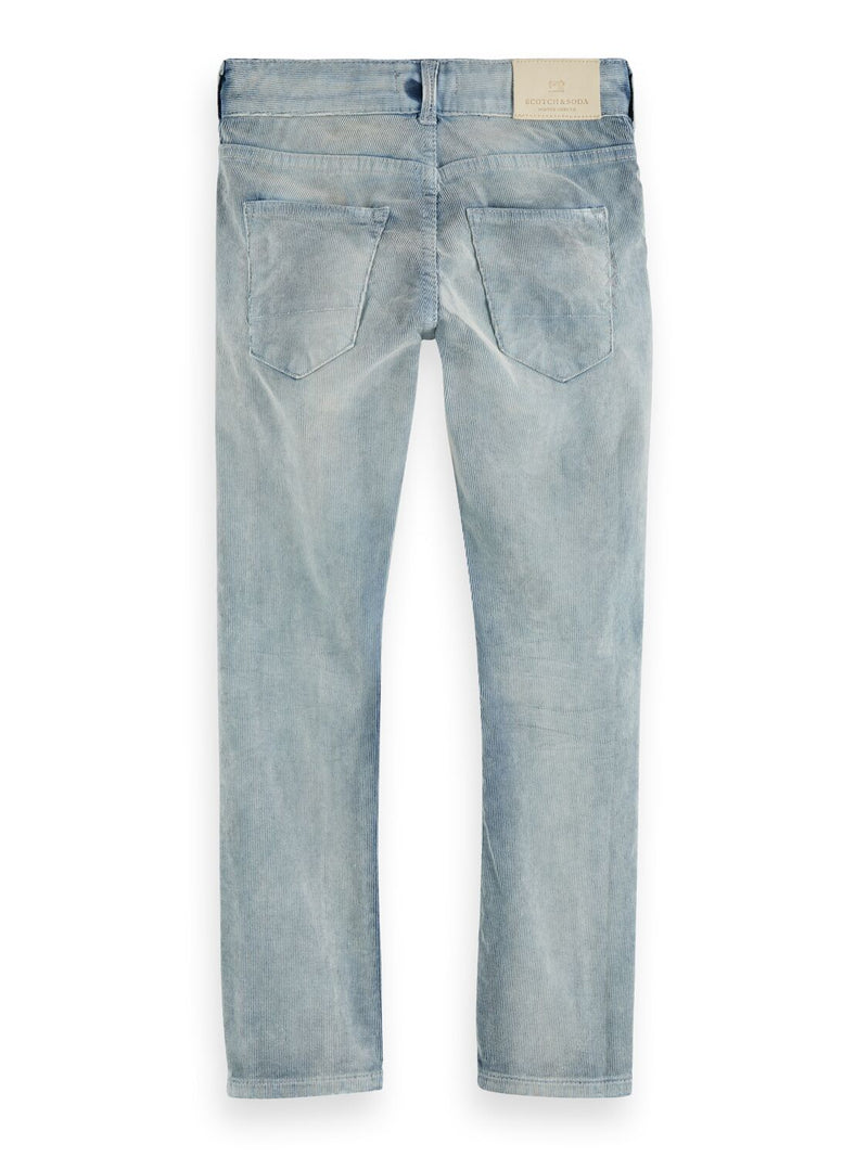 Boys Skinny Fit 5 Pocket Pants in Corduroy - Il Bambino Store