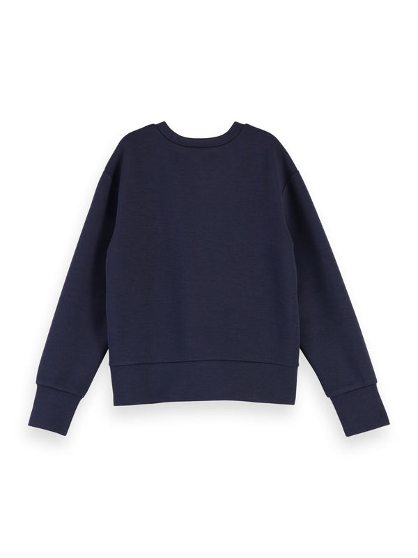 Super-Soft Sweatshirt with Button Detail - Il Bambino Store