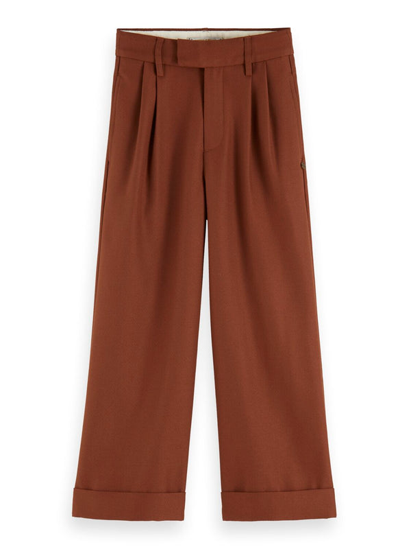 Girls High Waist Wide Leg Pants - Il Bambino Store