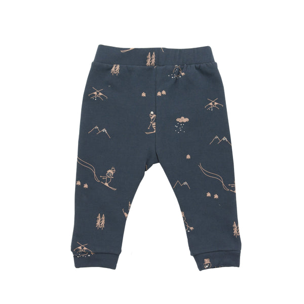 Snow Pants in Nocturnal Blue - Il Bambino Store