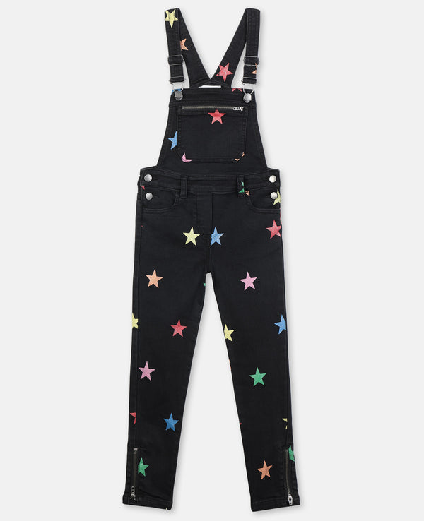 Glitter Stars Skinny Fit Dungarees - Il Bambino Store