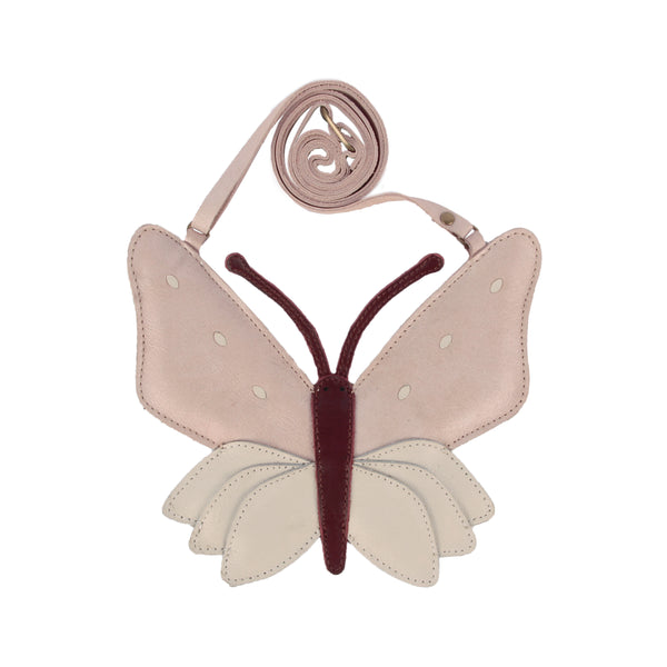 Toto Purse Butterfly Powder Metallic Nubuck - Il Bambino Store