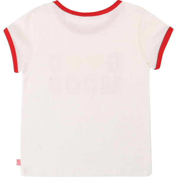 "Short Sleeve ""Good Mood"" Tee - Il Bambino Store"