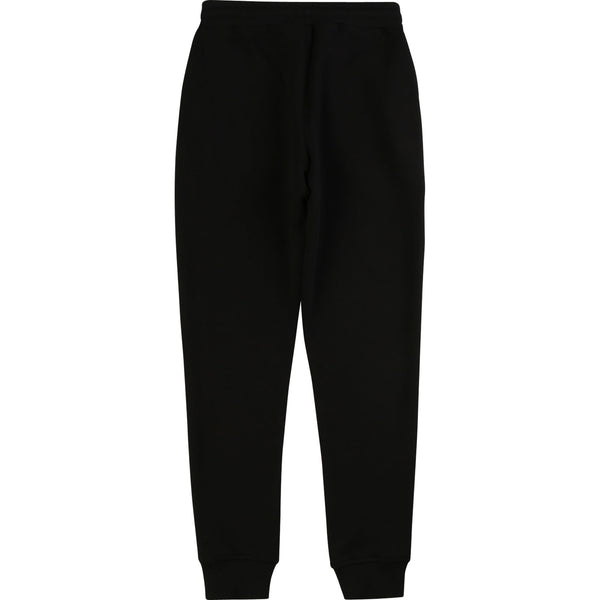 French Terry Sweatpants with Logo Down The Leg - Il Bambino Store
