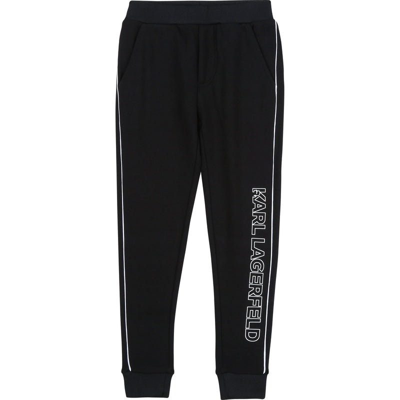 Sweatpants with Logo Print Down Leg - Il Bambino Store