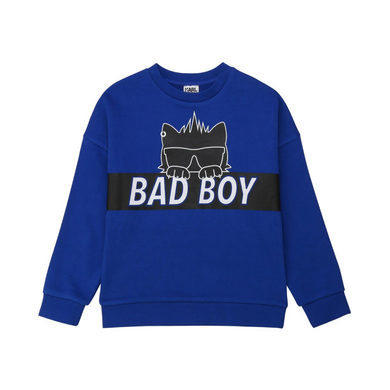 Sweatshirt with Bad Boy - Il Bambino Store