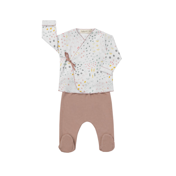 Bloom Jacket + Footed Pants - Il Bambino Store