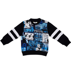 Little Boy Popeye Crewneck Sweater Felpe - Il Bambino Store