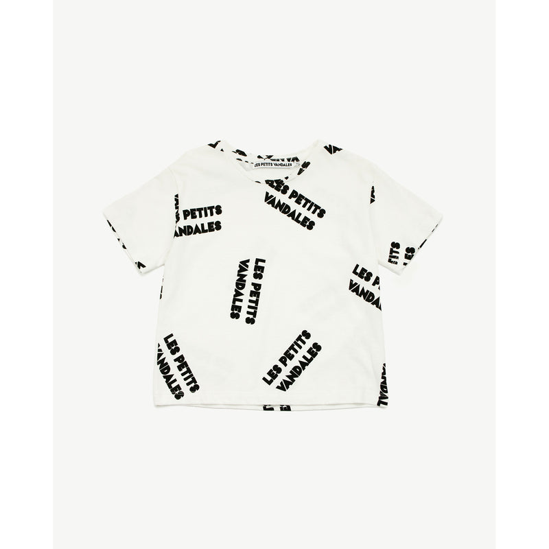 Brand All-Over Tee - Il Bambino Store