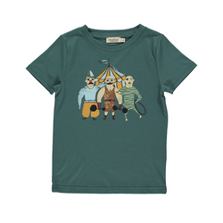 Ted T-Shirt in Darkest Teal - Il Bambino Store