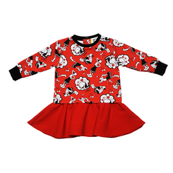 Little Girl LS Olive Oyl Dress - Il Bambino Store