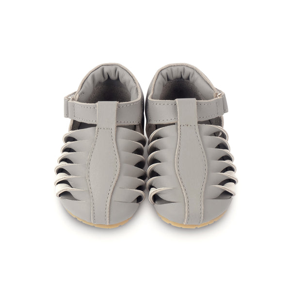 Elvie Elephant Grey Leather - Il Bambino Store